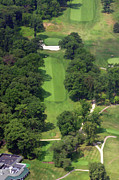 Sunnybrook Golf Club Aerials By Duncan Pearson Originals - 12th Hole Sunnybrook Golf Club 398 Stenton Avenue Plymouth Meeting PA 19462 1243 by Duncan Pearson