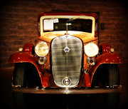 Auction Photo Prints - 12V Collector Car Print by Susanne Van Hulst
