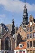 Gabled Prints - Amsterdam Print by Andre Goncalves