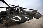Helicopter Pilot Framed Prints - An Ah-64d Apache Longbow Block Iii Framed Print by Terry Moore