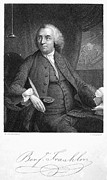 Statesman Framed Prints - Benjamin Franklin (1706-1790) Framed Print by Granger