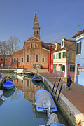 Inclined Prints - Burano Print by Joana Kruse