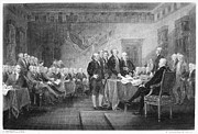 Declaration Of Independence Posters - Declaration Of Independence Poster by Granger