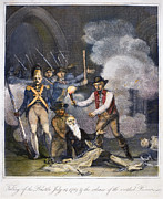 Bastille Posters - French Revolution, 1789 Poster by Granger