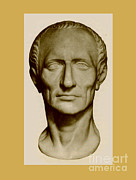 Ancient Rome Art - Julius Caesar, Roman General by Photo Researchers