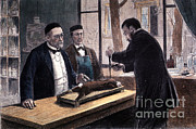 Fermentation Prints - Louis Pasteur, French Chemist Print by Science Source