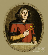 Famous Book Art - Nicolaus Copernicus, Polish Astronomer by Science Source