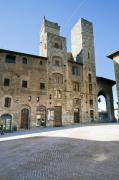 Chianti Framed Prints - San Gimignano Framed Print by Andre Goncalves