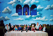 Banquet Mixed Media - Untitled by Rafal Olbinski