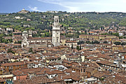 Steeple Photos - Verona by Joana Kruse