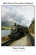 Signed Photo Framed Prints - White Pass and Yukon Route Railroad Framed Print by William Jones