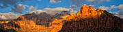 Virgin River Prints - Zion National Park Utah Print by Utah Images