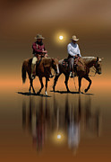Cowboys Photos - 1368 by Peter Holme III