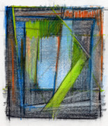 Mixed Media Abstract Prints - RCNpaintings.com Print by Chris N Rohrbach