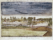 Concord Massachusetts Metal Prints - Battle Of Concord, 1775 Metal Print by Granger