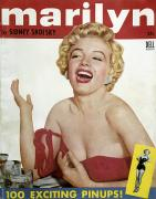 Laughing Prints - Marilyn Monroe (1926-1962) Print by Granger