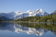 Snow Capped Originals - Mountain  Lake by Mark Smith