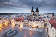 Prague Old Town Square Print by Andre Goncalves