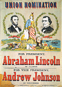 President Johnson Prints - Presidential Campaign, 1864 Print by Granger