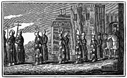 Anti Protestant Prints - Spanish Inquisition Print by Granger