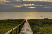 Boardwalk Framed Prints - Sylt Framed Print by Joana Kruse