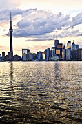 Canada Photos - Toronto skyline by Elena Elisseeva