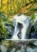 Ban Gioc Prints - Waterfall Print by Odon Czintos