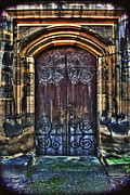 Christian Framed Prints Posters - 14th Century Door Poster by Yhun Suarez