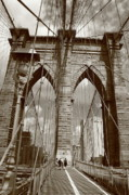 Wall Art - Office Decor - Brooklyn Bridge - New York City by Frank Romeo