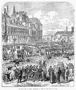 Mob Prints - Paris Commune, 1871 Print by Granger