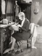 Silent Film Still: Woman Print by Granger
