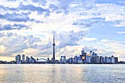 Highrise Framed Prints - Toronto skyline Framed Print by Elena Elisseeva