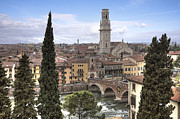 Stone Bridge Prints - Verona Print by Joana Kruse