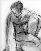Male Nude Drawings - RCNpaintings.com by Chris N Rohrbach