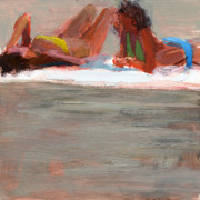 Summer Fun Painting Prints - RCNpaintings.com Print by Chris N Rohrbach