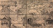 Francis Prints - 1581 Map By Nicola Van Sype, Showing Print by Everett
