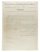 Us Civil Rights Posters - 15th Amendment To The U.s. Constitution Poster by Everett