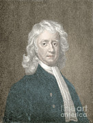 Analyze Prints - Isaac Newton, English Polymath Print by Science Source