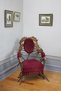 Reclining Chairs Prints - Sagadi Manor Near Tallinn. A Historic Print by Jaak Nilson