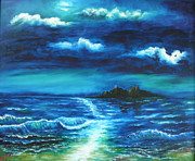 Ocean Landscape Originals - Untitled by Adam Vance