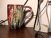 Coffee Glass Art Originals - Untitled by Randy Player