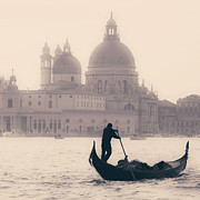 Boat Photo Prints - Venezia Print by Joana Kruse