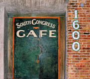 Lucky Larue Art - 1600 So. Congress Cafe by Lucky LaRue