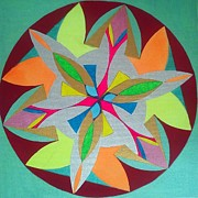 Moorea Paintings - 166. Mandala by Martin Zezula