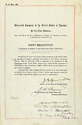 Us Congress Posters - 16th Amendment To The U.s. Constitution Poster by Everett