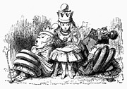 Tenniel Posters - Carroll: Looking Glass Poster by Granger