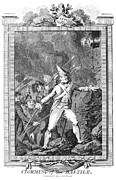 Bastille Photo Prints - French Revolution, 1789 Print by Granger