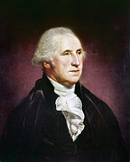 Peale Photo Posters - George Washington Poster by Granger
