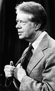 Carter Art - Jimmy Carter (1924- ) by Granger