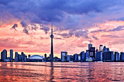 Harbor Art - Toronto skyline by Elena Elisseeva